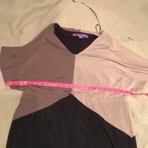 Jolie Dresses - Tri- colour mini dress